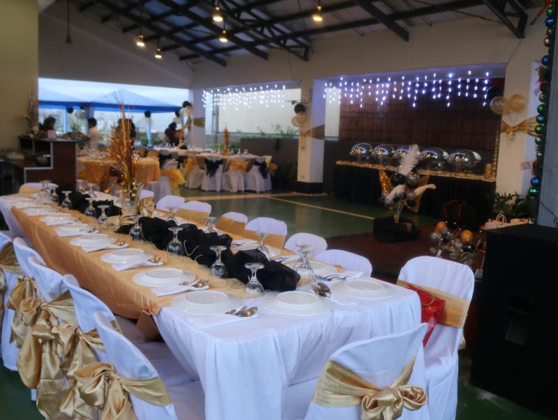 Debut party package Debut venue Makati Hotel - Alejandra Hotel / Skyline Deck