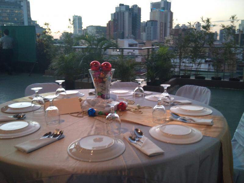 Skyline Deck party venue party package debut venue Alejandra Hotel Makati