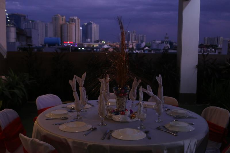Skyline Deck party venue birthday debut venue Alejandra Hotel Makati