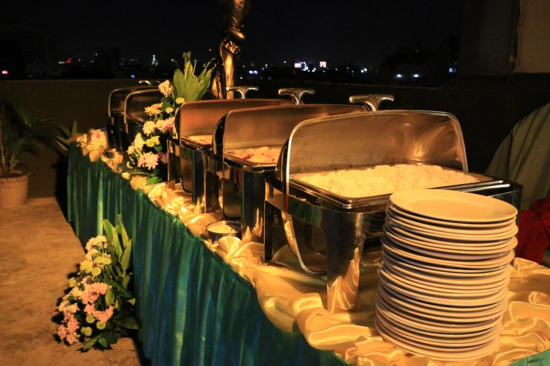 Skyline Deck Christmas Party venue set-up Alejandra Hotel Makati7